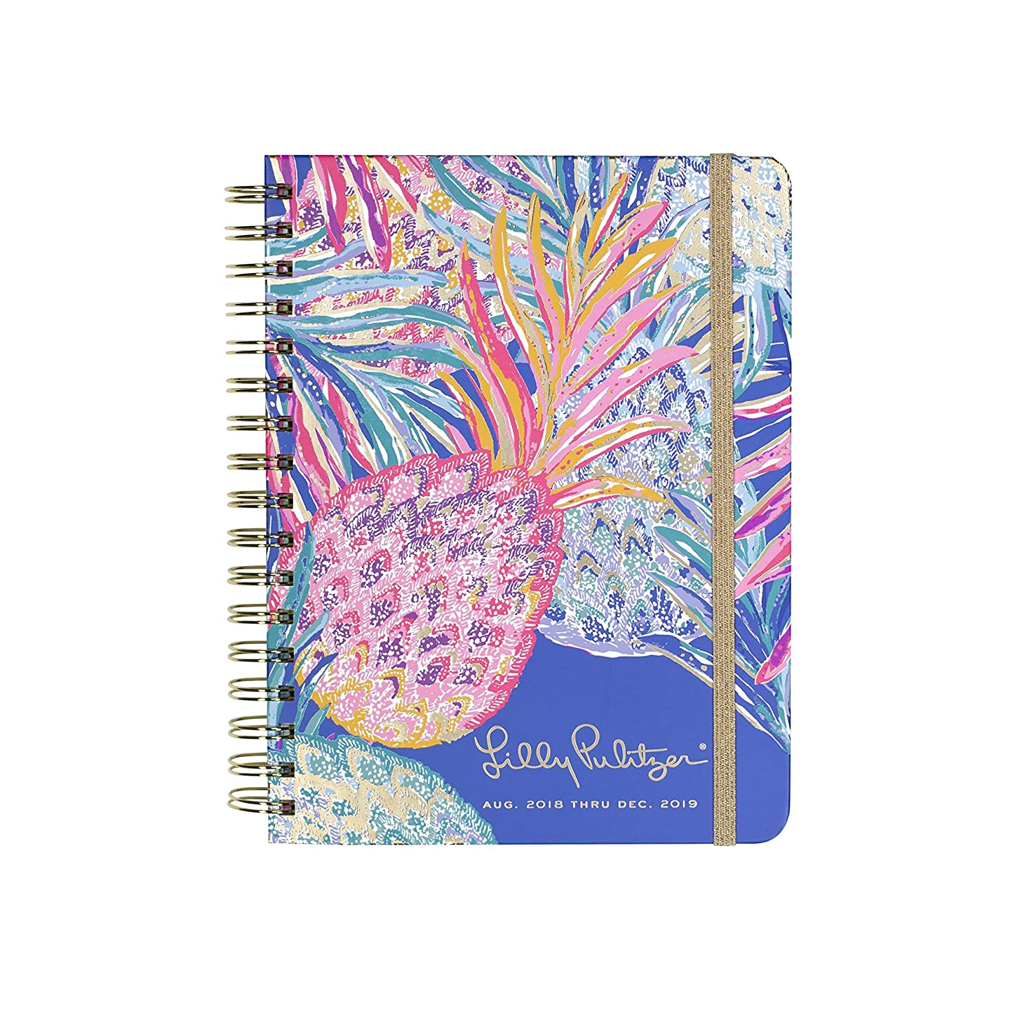 Lilly Pulitzer 17 Month Large Hardcover Agenda, Personal ...