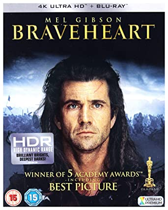 Braveheart Blu-ray [4k UHD] [2018] [Blu-ray]: Amazon co uk