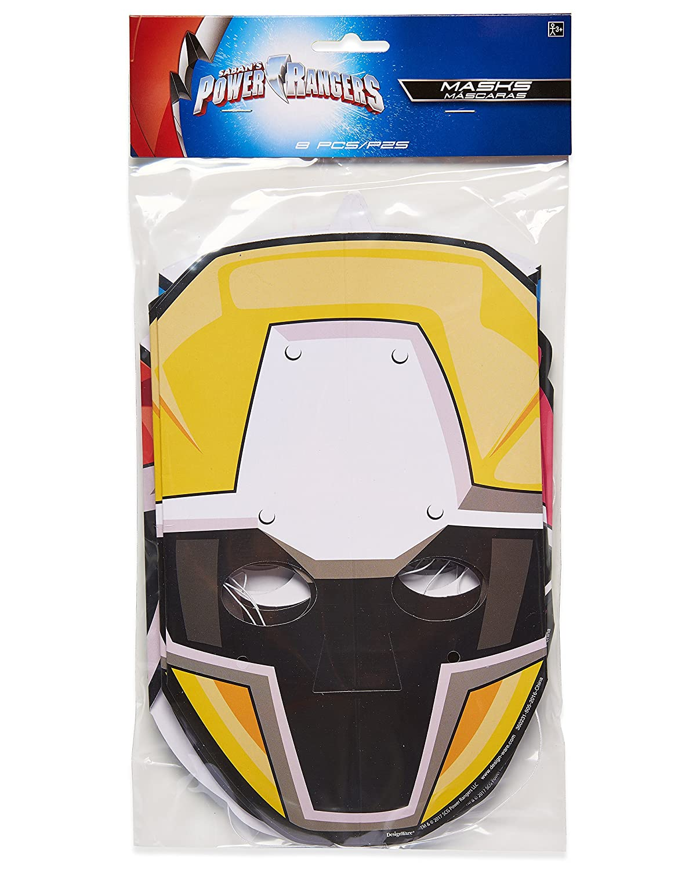 Amazon.com: American Greetings Power Rangers Ninja Steel 8 Count ...