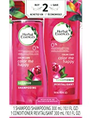 """Herbal Essences Color Me Happy Shampoo and Conditioner Dual Pack, 600 mL""""packaging may vary"""""""