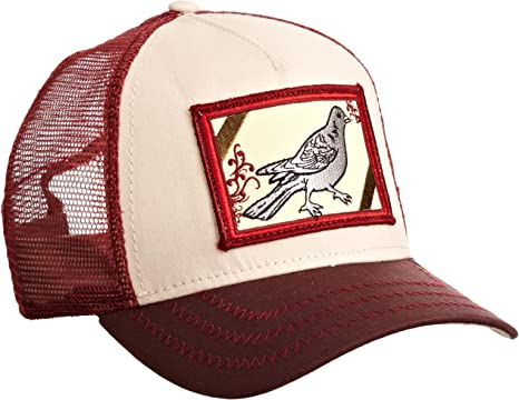 Gorra trucker granate pájaro Dirty Bird de Goorin Bros. - Rojo ...
