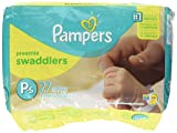Pampers Swaddlers Preemie Diapers Size P-1 27 count