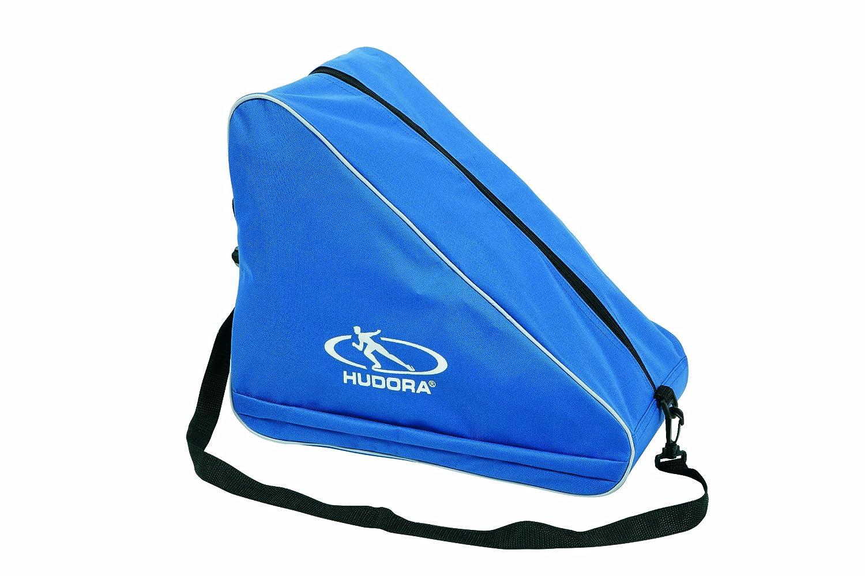 Hudora 29960 - Borsa portapattini per pattini da ghiaccio e rollerblade, per ragazzo, colore: Blu