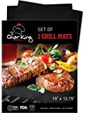 The Char King - Safer Than Silicone Baking Mat - Cookie Sheet Set of 2 - Professional Baking Sheet Nonstick - BPA Free- 5 Year Warranty