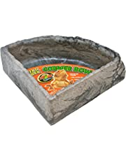 Zoo Med Reptile Rock Corner Water Dish, Large