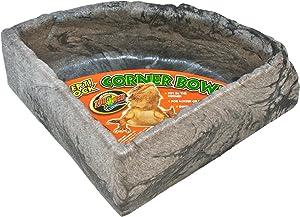 Zoo Med KB-40 Reptile Rock Corner Water Dish Large
