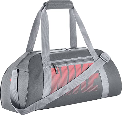 b658546c85 Amazon.com  NIKE New Gym Club Duffel Bag Cool Grey Wolf Grey Lava Glow   Sports   Outdoors