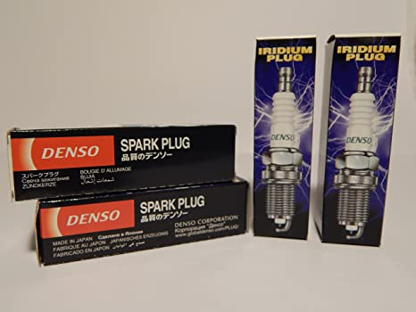 Amazon.com: DENSO # 3377 IRIDIUM PLATINUM Power pack Spark Plugs -- SKJ20DR-M11 ----- 4 PCS * NEW *: Automotive