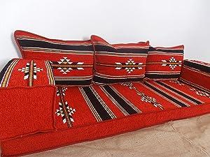 floor seating sofa,arabic sofa,oriental furniture,arabic majlis,arabic couch,kilim sofa,sofa cover - MA 20