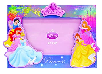 disney princess pressed paper photo frame
