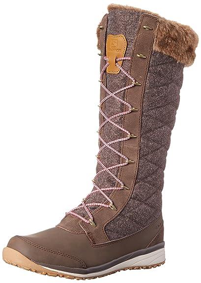 Amazon Com Salomon Women S Hime High Snow Boot Snow Boots