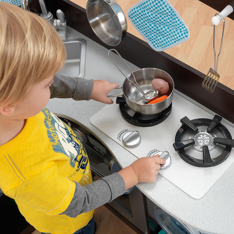 KidKraft Grand Espresso Corner Kitchen Playset, Kitchen Playsets   Amazon  Canada