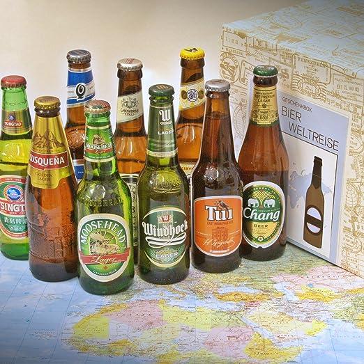 Premium Geschenk Bierweltreise Verpackt Im Präsentkarton