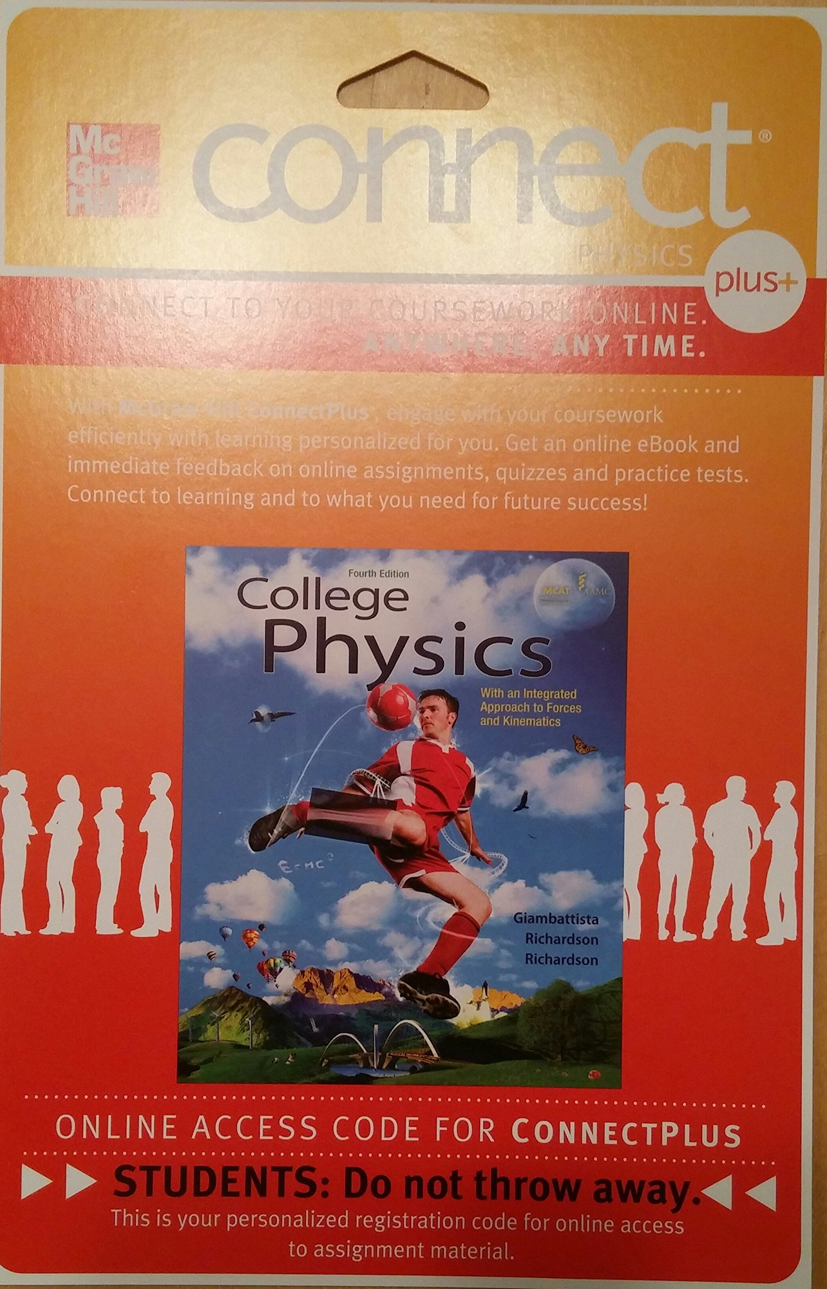 Connect Access 1-Semester Card for College Physics: 9780077437916:  Amazon.com: Books