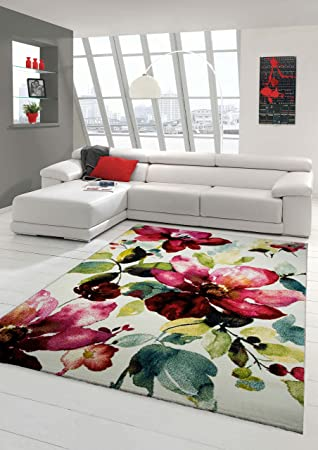 designer teppich moderner teppich wohnzimmer teppich blumenmotiv ... - Wohnzimmer Grun Turkis