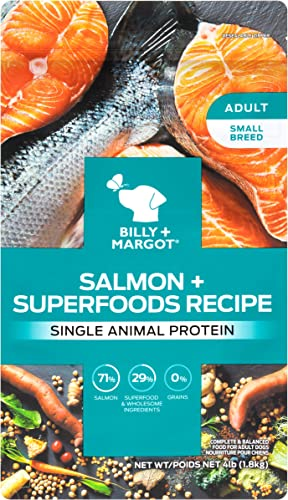 Billy Margot Small Breed Superfood Blend Single Animal Protein Grain Free Dog Food