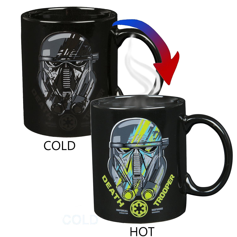 Star Wars Rogue One Deathtrooper Heat Reveal 11 Oz Ceramic Mug Underground Toys SW04112