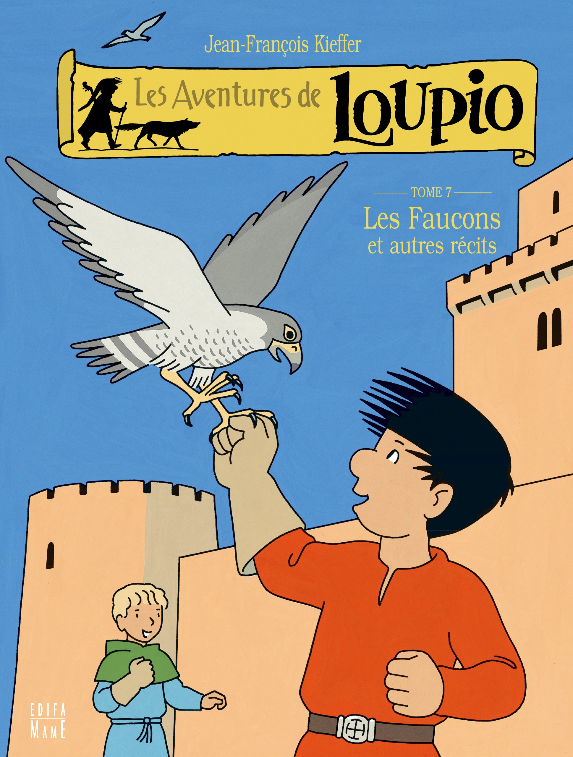 Download Les aventures de Loupio 7 : Les faucons et autres r�cits pdf epub