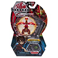 Bakugan Ultra, Pyrus Serpenteze, 3-inch Tall Collectible Transforming Creature, for Ages 6 and Up