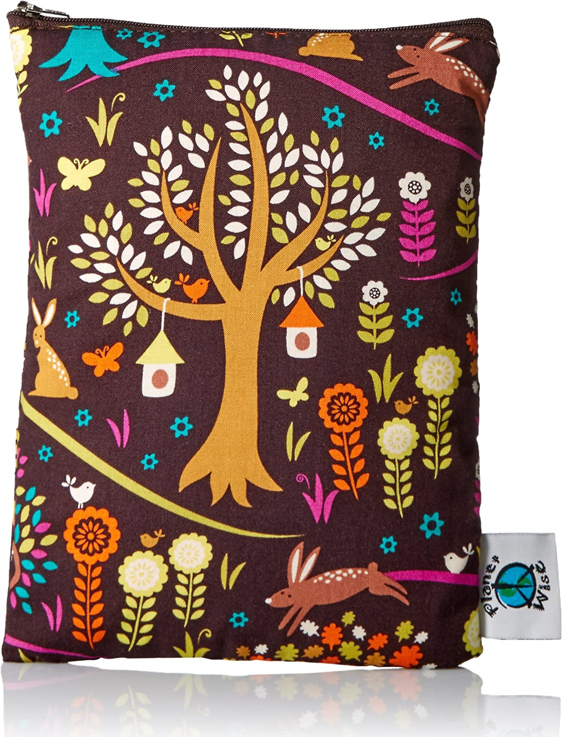 Planet Wise wiederverwendbar Wet Windel Bag (Jewel Woods) Planet Wise Inc. PWWBMDJewelWood