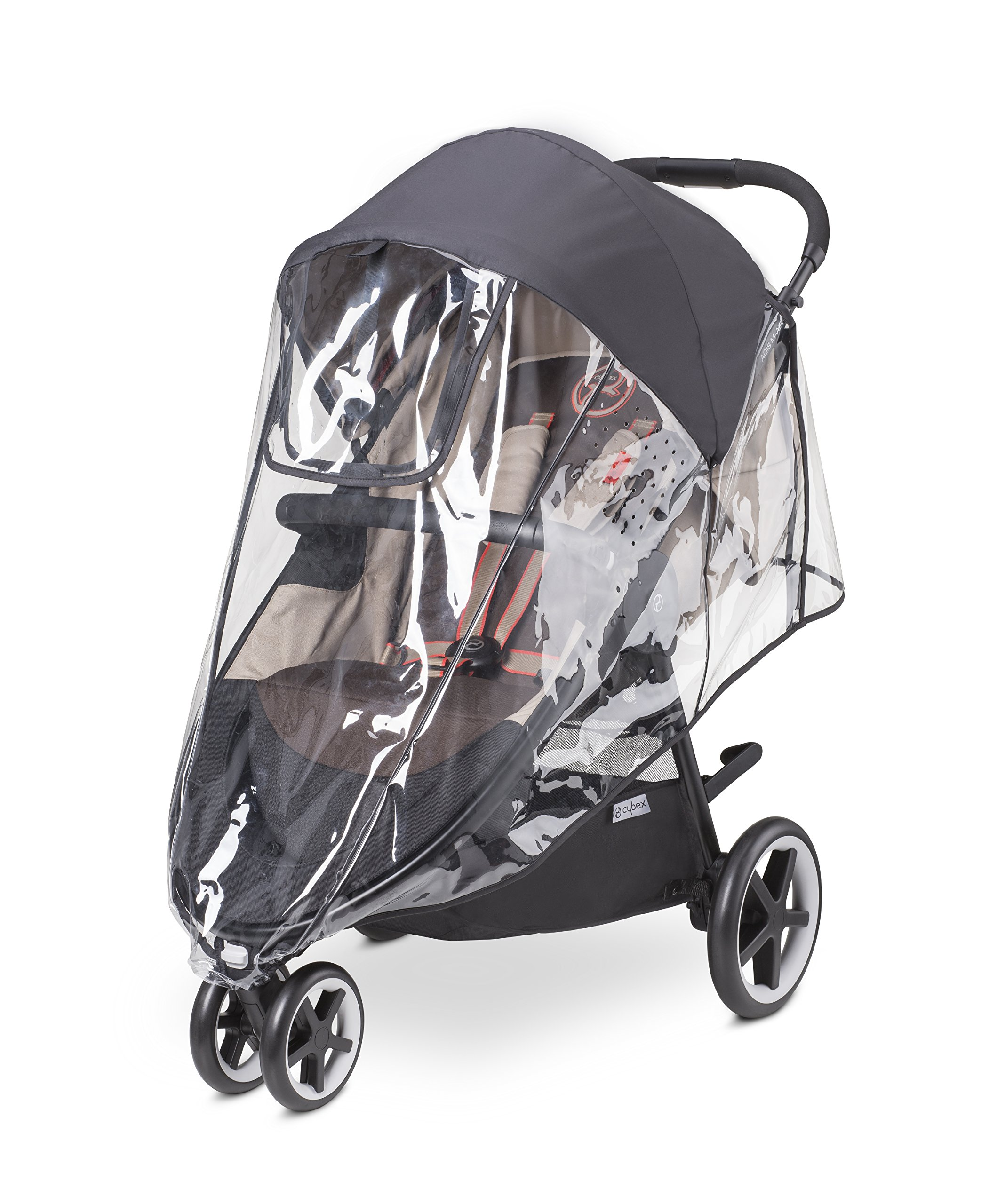 CYBEX Agis M-Air and Eternis M Stroller Rain Cover, Black