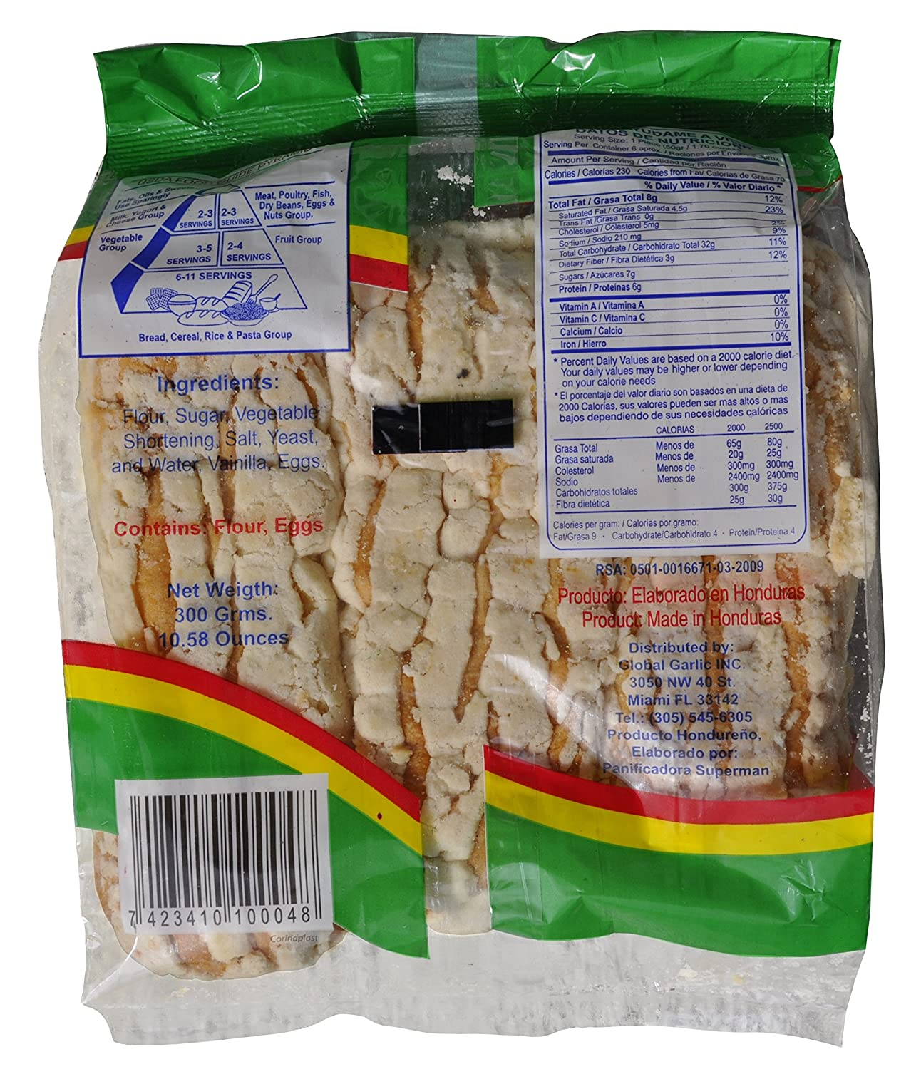 Semita de Arroz / Border Semita Rice 10 oz - 3 Pack: Amazon.com: Grocery & Gourmet Food