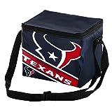 Houston Texans Big Logo Stripe 6 Pack Cooler