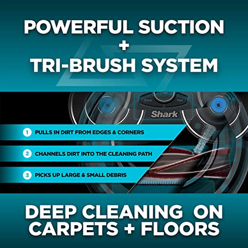 The Tri-Brush system and increased suction will promote performances