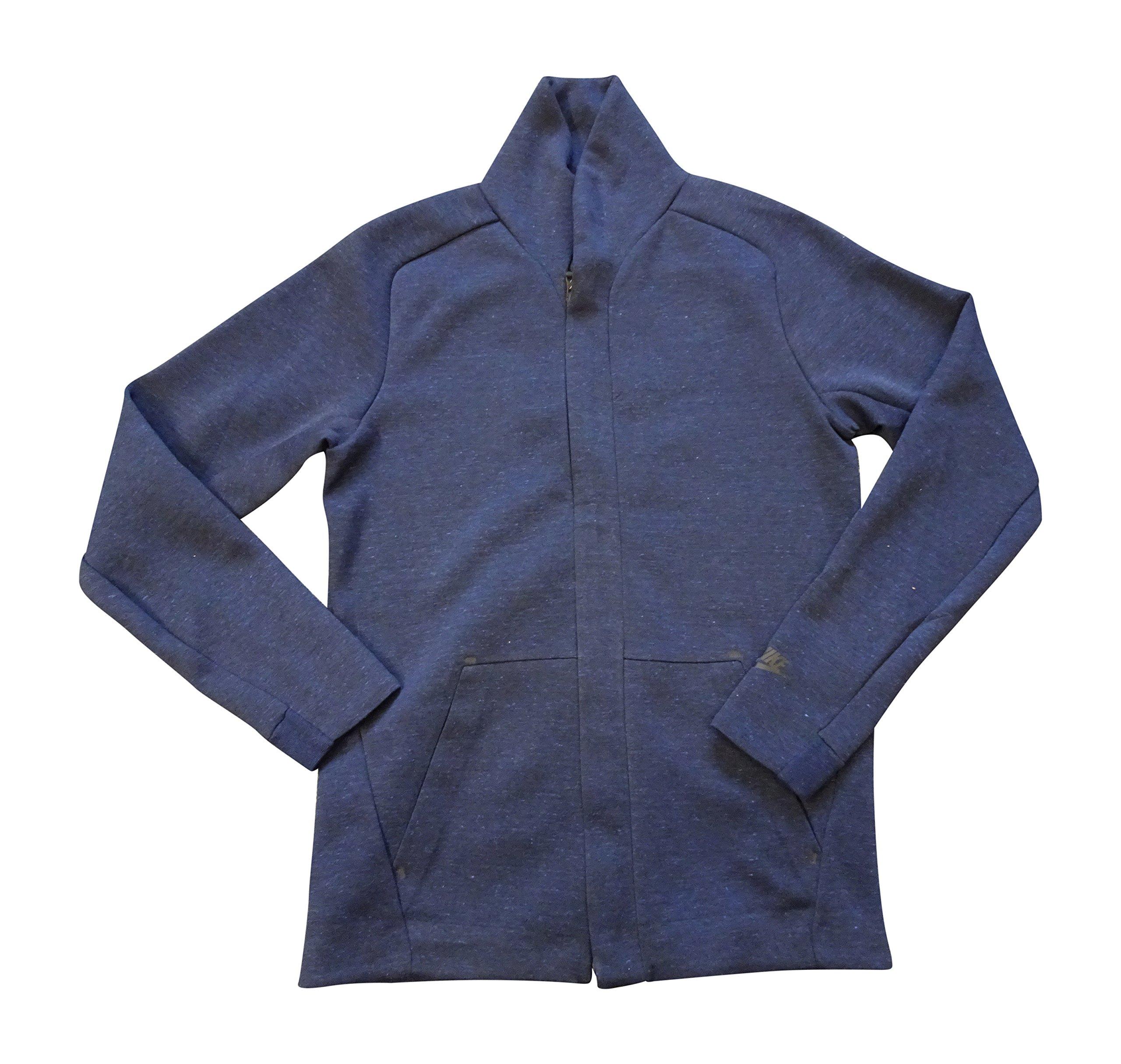 NIKE Mens NSW Tech Fit Fleece Jacket 805164 Jumper (Medium, Navy blue 473)