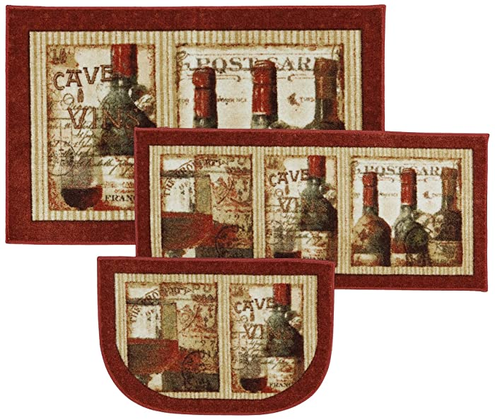 Mohawk Home New Wave French Cellar Printed Rug, Set, Multi