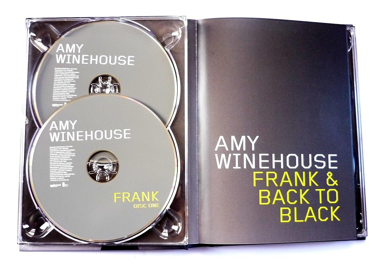 Limited Edition Cd Gold Disc Amy Winehouse Disque dor /édition limit/ée Back to Black