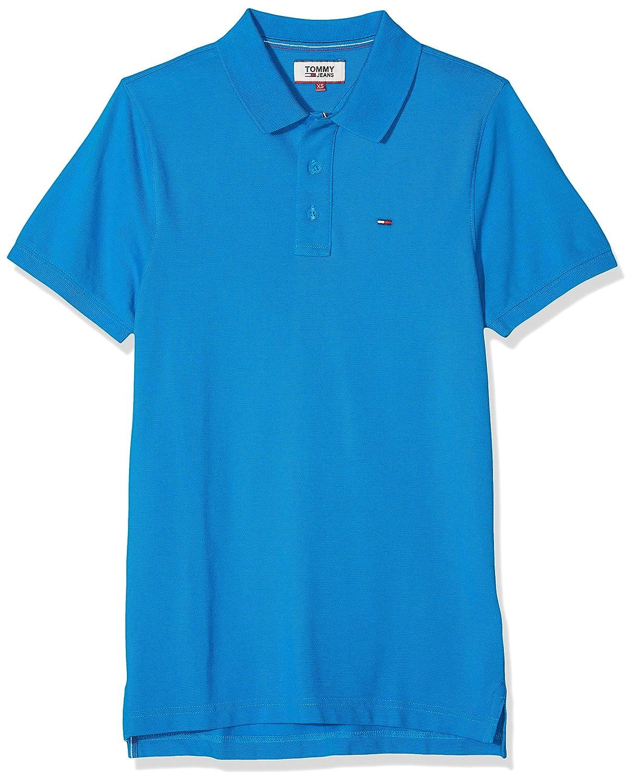 Tommy Jeans Herren Herren Herren Basic Kurzarm  Polo Shirt B01M6CPNYS Poloshirts Lassen Sie unsere Produkte in die Welt gehen d4be9f