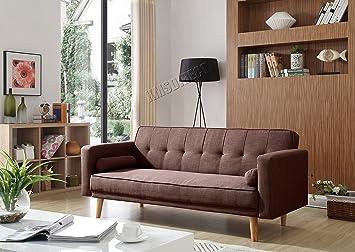 Westwood - Sofá cama reclinable de 3 plazas con dos cojines ...