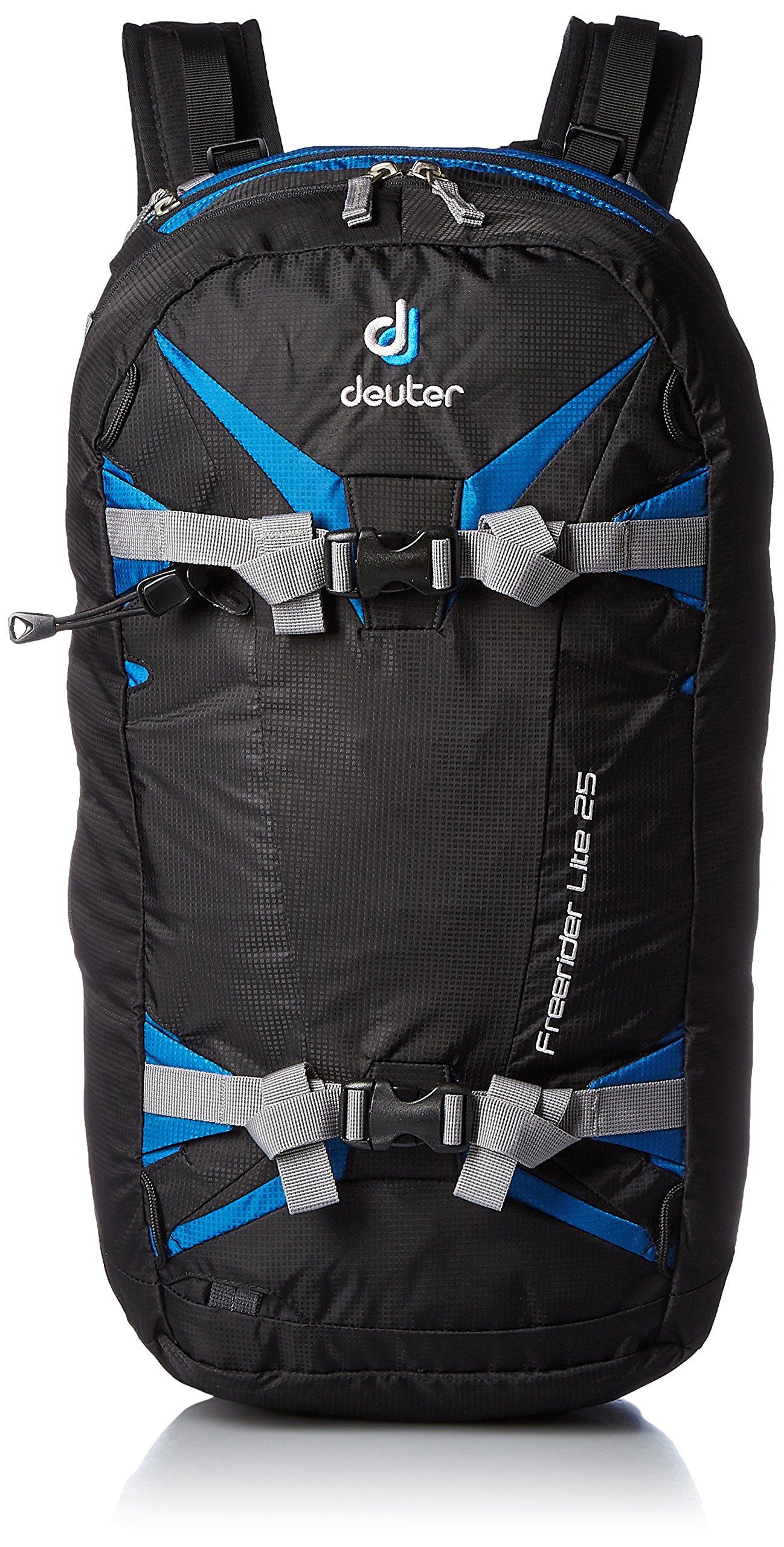 Deuter 330301773030 Black/Bay Freerider Lite 25 - Perfect for Hiking, Biking, Hunting, Off-road and Motorcycling by Deuter