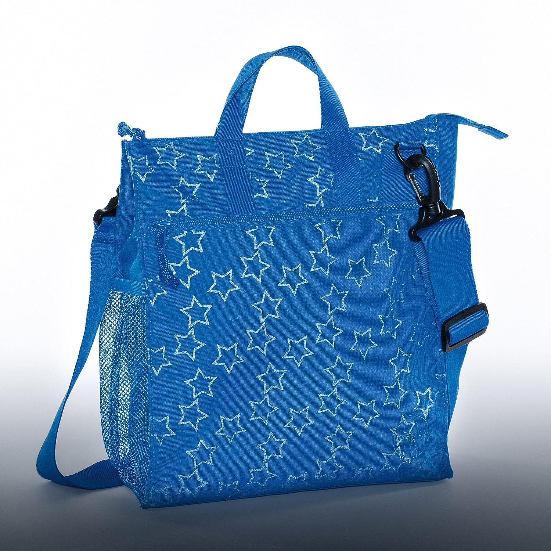 blau L/ÄSSIG Baby Wickeltasche Kinderbuggytasche Buggy Tasche Kinderwagen//Casual Buggy Bag Reflective Star