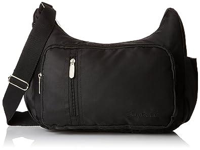 58481d4e7274 Suvelle Lightweight Slouch Travel Everyday Crossbody Bag Multi Pocket Shoulder  Handbag 2054