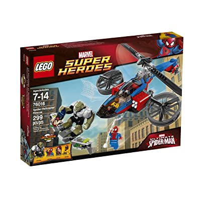 LEGO Superheroes 76016 Spider-Helicopter Rescue (Discontinued by manufacturer): Toys & Games