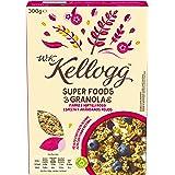 Kelloggs Cereales Super Foods Arándanos - 2 Paquetes de 300 gr - Total: 600 gr