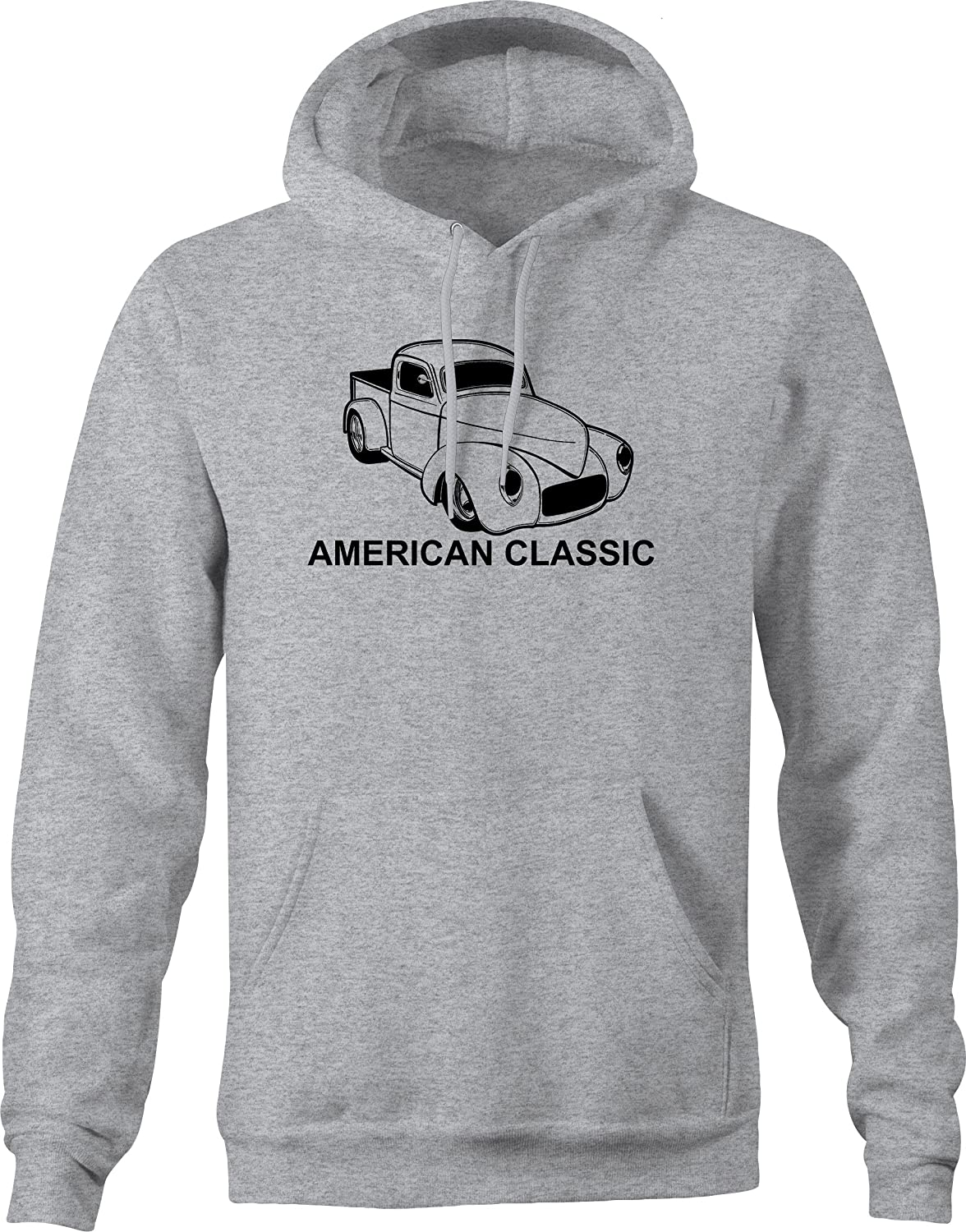 American Classic Pickup Truck Muscle Car 40s 50s Hooded Graphic Hoodie for Men