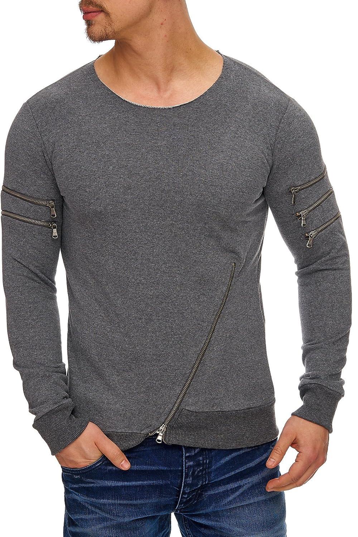 Herren Oversize Sweatshirt Pullover Hoodie TAZZIO 1229 1, 19