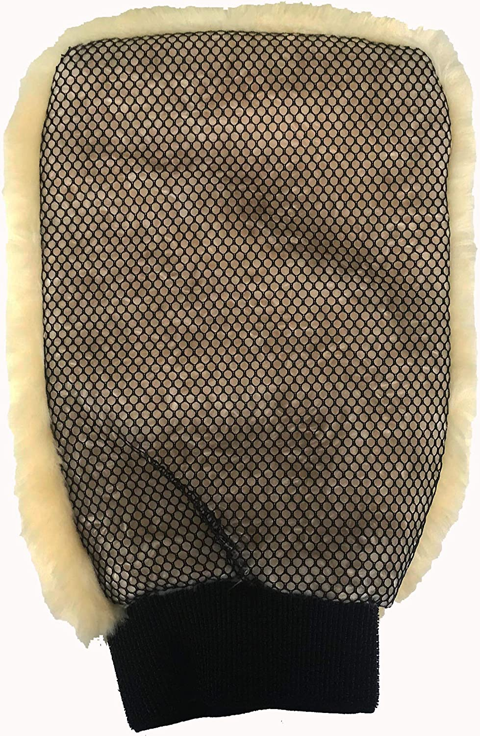 Topteck Signature Luxurious Lambswool Wash Mitt Lambs Wool SPECIAL INTRODUCTORY OFFER PRICE!