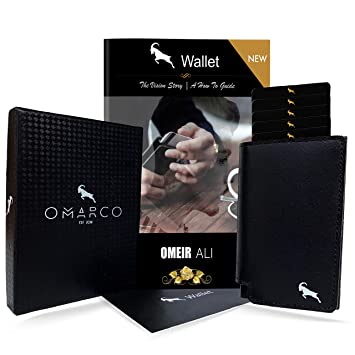 15e390ac61b3 OMARCO® Wallet (with BONUS 2 in 1 E-Book)