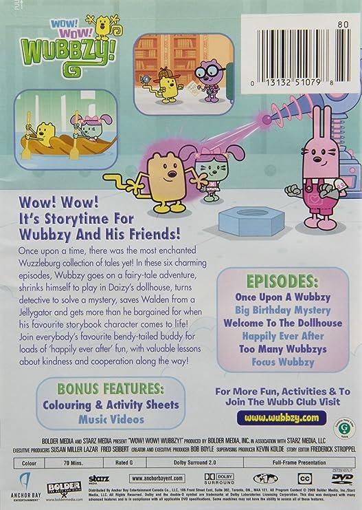 Wow! Wow! Wubbzy!  A Wuzzleburg Tale  Amazon.ca  Grey DeLisle  DVD e8b23e5f6