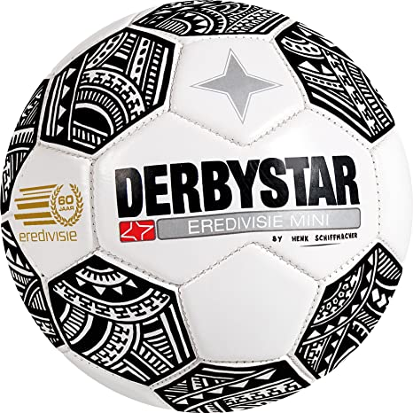 Derbystar fútbol y Mini Ball Eredivisie 2017, tamaño 1 (Contorno ...