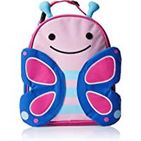Skip Hop Zoo Lunchie Insulated Kids Lunch Bag, Blossom Butterfly