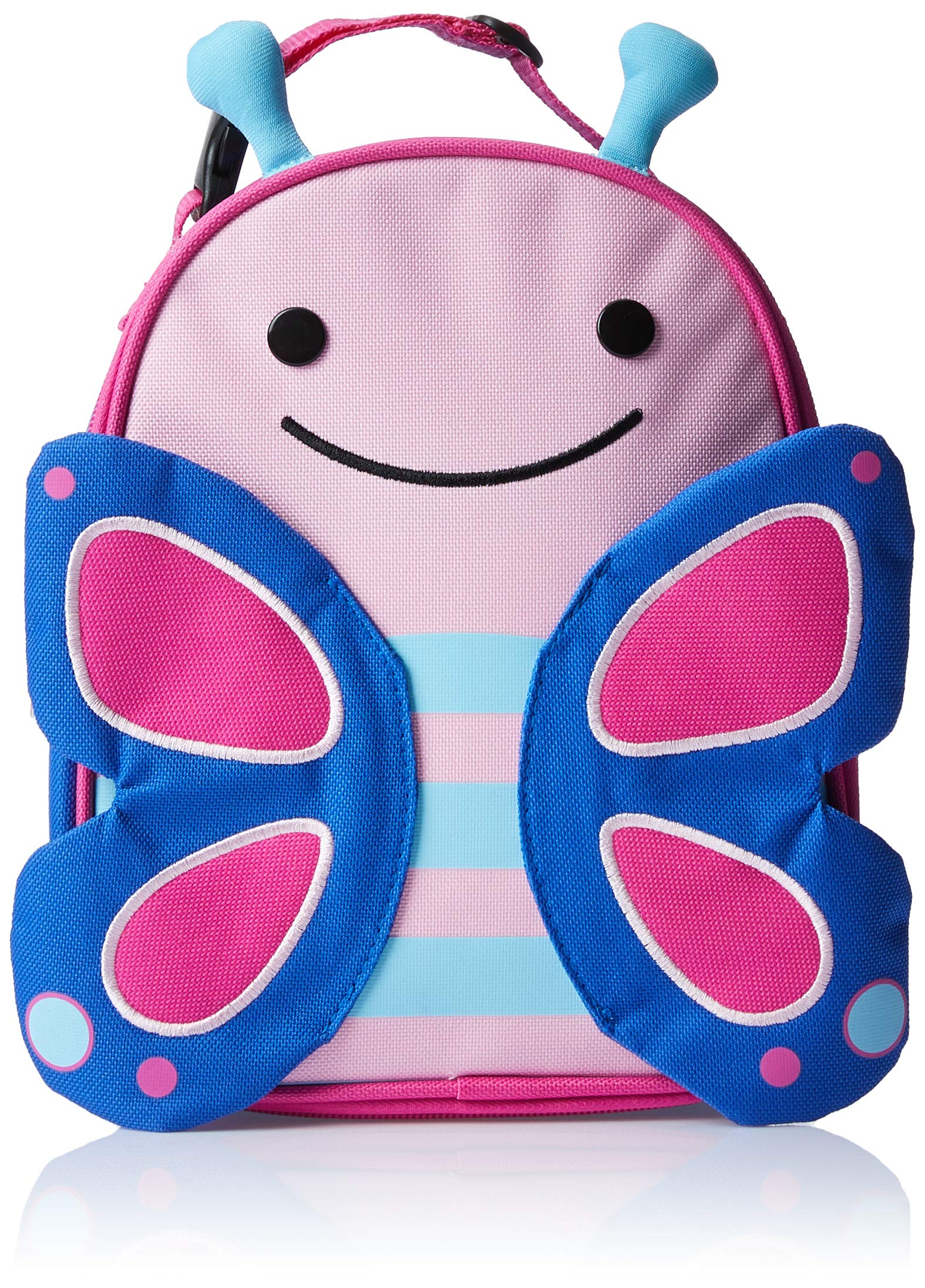 Skip Hop Zoo Kids Insulated Lunch Box, Blossom Butterfly, Pink by Skip Hop