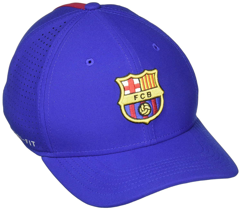 c1f8d923c NIKE FC Barcelona AeroBill Classic 99 Adjustable Hat (Deep Royal Blue)  (OSFM)