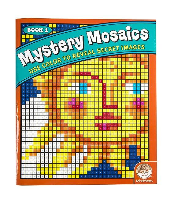 Amazon Mystery Mosaics Book 1 Toys Games