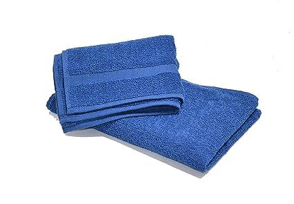 Hashcart Suave Absorbente Toalla de algodón Hojas/Hojas de baño/baño toallitas/Blanco