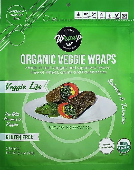 Wrawp Veggie Wraps – Mini Veggie Life Wraps por Wrawp ...